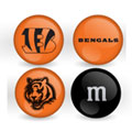 Cincinnati Bengals Custom Printed NFL M&M's With Team Logo