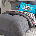 Carolina Panthers NFL Team Denim Twin Comforter / Sheet Set