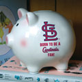 St. Louis Cardinals MLB Ceramic Piggy Bank