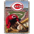 "Cincinnati Reds MLB ""Home Field Advantage"" 48"" x 60"" Tapestry Throw"