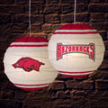 "Arkansas Razorbacks NCAA College 18"" Rice Paper Lamp"