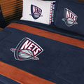New Jersey Nets NBA Microsuede Comforter / Sheet Set