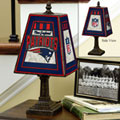 New England Patriots NFL Art Glass Table Lamp