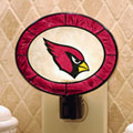 Arizona Cardinals NFL Art Glass Nightlight
