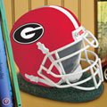 Georgia UGA Bulldogs NCAA College Helmet Bank