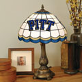 Pittsburgh Panthers NCAA College Stained Glass Tiffany Table Lamp