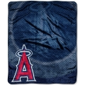"Los Angeles Angels MLB ""Retro"" Royal Plush Raschel Blanket 50"" x 60"""