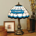 Carolina Panthers NFL Stained Glass Tiffany Table Lamp