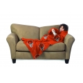 Cincinnati Bengals NFL Juvenile Fleece Comfy Throw