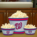 Washington Nationals MLB Melamine 3 Bowl Serving Set