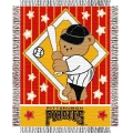 "Pittsburgh Pirates MLB Baby 36""x 46"" Triple Woven Jacquard Throw"