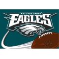 "Philadelphia Eagles NFL 20"" x 30"" Tufted Rug"