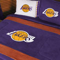 Los Angeles Lakers NBA Microsuede Comforter / Sheet Set
