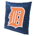 "Detroit Tigers MLB 16"" Embroidered Plush Pillow with Applique"