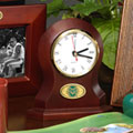 Colorado State Rams NCAA College Brown Desk Clock