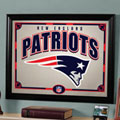 New England Patriots NFL Framed Glass Mirror