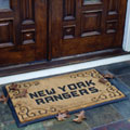 New York Rangers NHL Rectangular Outdoor Door Mat