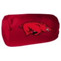 "Arkansas Razorbacks NCAA College 14"" x 8"" Beaded Spandex Bolster Pillow"
