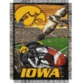 "Iowa Hawkeyes NCAA College ""Home Field Advantage"" 48""x 60"" Tapestry Throw"