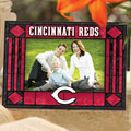 "Cincinnati Reds MLB 6.5"" x 9"" Horizontal Art-Glass Frame"