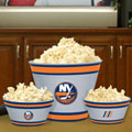 New York Islanders NHL Melamine 3 Bowl Serving Set