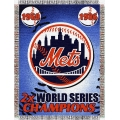 "New York Mets MLB ""Commemorative"" 48"" x 60"" Tapestry Throw"