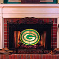 Green Bay Packers NFL Stained Glass Fireplace Screen