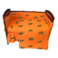 Oklahoma State Cowboys Crib Bed in a Bag - Orange
