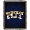 "Pittsburgh Panthers NCAA College ""Focus"" 48"" x 60"" Triple Woven Jacquard Throw"