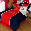 St. Louis Cardinals MLB Microsuede Comforter / Sheet Set