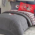 Kansas City Chiefs NFL Team Denim Queen Comforter / Sheet Set