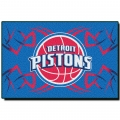 "Detroit Pistons  NBA 20"" x 30"" Tufted Rug"