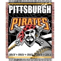 "Pittsburgh Pirates MLB 48""x 60"" Triple Woven Jacquard Throw"