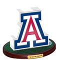 Arizona Wildcats NCAA College Logo Figurine