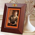 "Illinois Illini NCAA College 10"" x 8"" Brown Vertical Picture Frame"