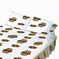 Oklahoma State Cowboys 100% Cotton Sateen Standard Pillowcase - White