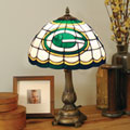 Green Bay Packers NFL Stained Glass Tiffany Table Lamp