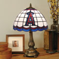 Los Angeles Anaheim Angels MLB Stained Glass Tiffany Table Lamp