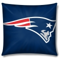 "New England Patriots NFL 16"" Embroidered Plush Pillow with Applique"