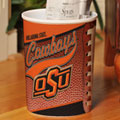 Oklahoma State Cowboys NCAA College Office Waste Basket
