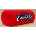 "Cleveland Cavaliers NBA 14"" x 8"" Beaded Spandex Bolster Pillow"
