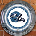 "Seattle Seahawks NFL 15"" Neon Wall Clock"