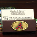 Atlanta Braves MLB Business Card Holder