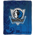 "Dallas Mavericks NBA Micro Raschel Blanket 50"" x 60"""