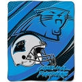 "Carolina Panthers NFL Micro Raschel Blanket 50"" x 60"""