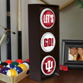 Indiana Hoosiers NCAA College Stop Light Table Lamp