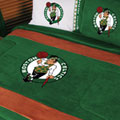 Boston Celtics NBA Microsuede Comforter / Sheet Set