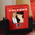 Atlanta Falcons NFL Art Glass Photo Frame Coaster Set