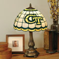 Georgia Tech Yellowjackets NCAA College Stained Glass Tiffany Table Lamp