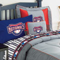 Washington Nationals Twin Size Sheets Set
